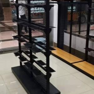 鞋架展示架带童鞋货架服装店上柜中岛壁挂