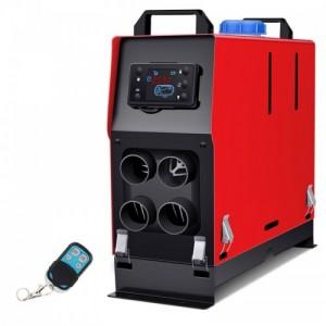 驻车加热器一体机12V24V免安装车载燃油取暖器电三轮暖风机