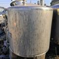 山東出售二手全新不銹鋼儲罐廠家現貨銷售