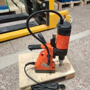 90度钻孔工具 磁性电钻钻打孔工具便携式电动磁力钻机