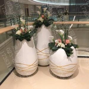 重庆防火阻燃防紫外线仿真艺术插花高仿真花卉生产厂家直销