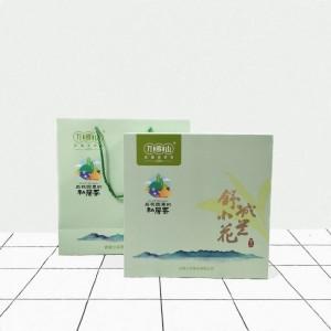 安徽合肥纸质 方形小兰花茶叶盒厂家定做