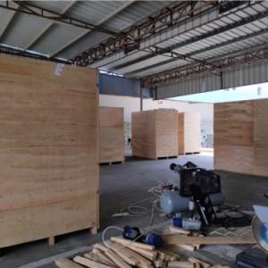 惠州出口木箱包装口罩机打木箱厂家现货供应