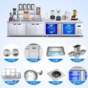 奶茶加工机器设备 奶茶制作的机器设备 河南隆恒放心品质