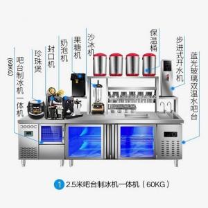 奶茶加工机器设备奶茶制作的机器设备 河南隆恒产品质保