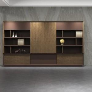 厦门办公室书柜办公家具木质文件柜厂家热销