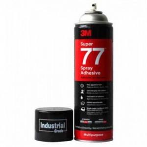 泰兴品汉3M77多用途喷雾型快干胶 玻璃金属木头绣花塑料粘接