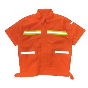 耐磨反光工装套装工作服 建筑工地 石油 码头制服定制