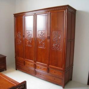 长沙定制新中式实木仿古家具柜子厂家供应