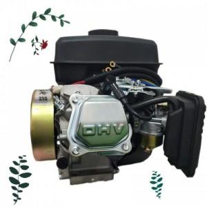 电动三四轮油电驻车增程器   接电机电车增程器安装视频图片