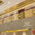 豪华而大方又有艺术的铜雕花楼梯护栏