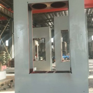 河北邢台大吨位实木热压机压力3000吨 木工机械