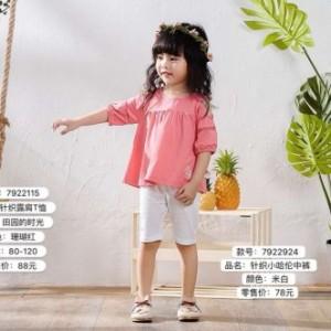 广州优子壹家哈伦牛仔裤品牌童装货源批发自由退换货厂家现货