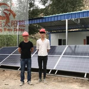 甘肃 永登程浩2000w养殖场太阳能离网发电系统厂家批发供应