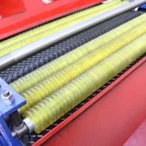 木地板开料多片锯 履带式多片锯 风腾木工机械