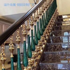 新中式不锈钢k金楼梯护栏风格保持