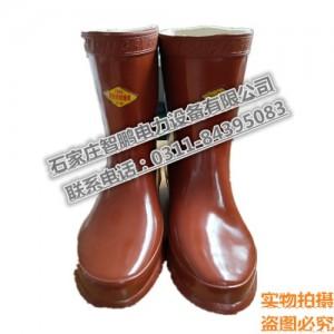 25kv绝缘靴 电力电工绝缘靴 绝缘胶鞋 劳保防护绝缘靴