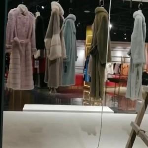 北京海洁斯牌直播间服装服饰电动旋转服装展示架