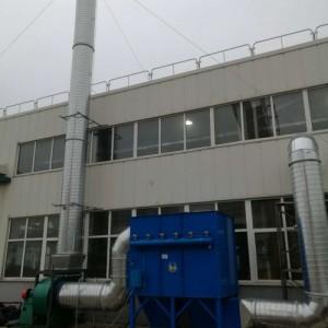 玻璃 陶瓷废气尘废气治理净化设备