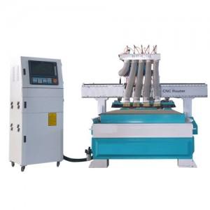 木工机械自动四工序开料机 1325板式家具数控开料机雕