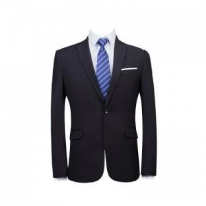 商务男装黑色职业正装西服套装男士西装工作服