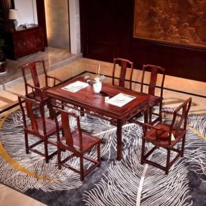 西安红酸枝红木家具价格红木家具定制厂家国标材质