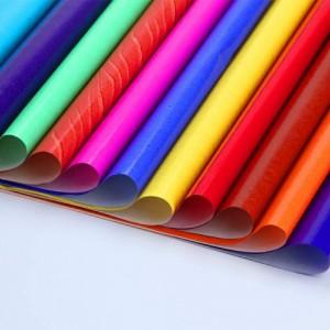 彩色蜡光纸彩色蜡光纸批发厂家蜡光纸具体用途蜡光纸手工作品