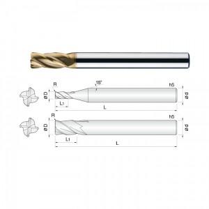 常州正诚新材生产硬质合金高硬模具专用铣刀