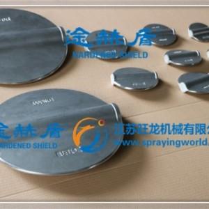 江苏旺龙蝶阀阀板陶瓷硬质合金复合涂层服务
