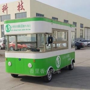 潍坊电动三轮四轮二手电动餐车价格咨询