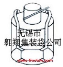 无锡市翱翔集装袋公司供应耐高温吨袋 集装袋 吨袋 炭黑包装袋