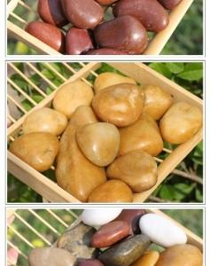 广东江门鹅卵石厂家批发供应 园林铺景石材鹅卵石厂家批发供应