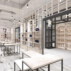 湖北汽车用品烤漆展柜工厂直销 外贸鞋店皮具展柜设计厂家