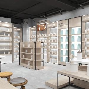 湖北首饰品展示柜柜台厂家定做 外贸鞋店皮具展柜工厂直销