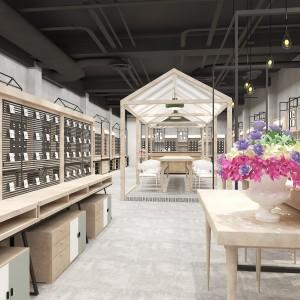 衢州童装展柜木纹展示架工厂报价 商场超市日用品展柜产地直销