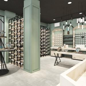 江西商业展柜道具价格表 外贸鞋店皮具展柜设计厂家