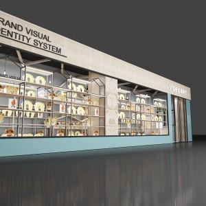 义乌市欧式服装展示柜参考价格 透明商场透明展示柜厂家定做