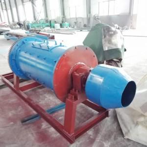 大型球磨机滚筒式球磨机干湿分离小型钢球行星实验室卧式选矿设备
