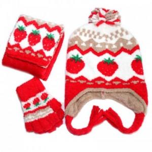 帽仕嘉针织帽毛线帽定制儿童成人款三件套