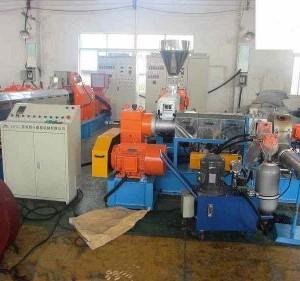 供应恭乐单螺杆造粒机  江苏塑料造粒设备机械厂房