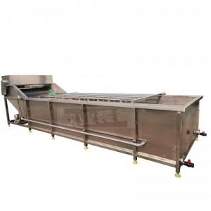 厂家生产土豆加工流水线 全自动果蔬切段清洗包装生产流水线