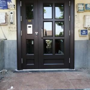 厂家批发入户单元门 对讲门 住宅楼宇门 安装服务