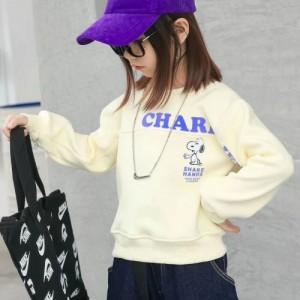 广州品牌童装折扣尾货批发 一线品牌史努比系列冬装
