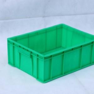 供应5号周转箱塑料胶箱餐具专用箱,物流箱兰色料