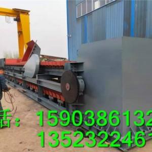 水泥厂输送机使用现场 石块输送机铁矿石板式给料机特性