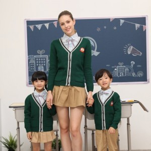 幼儿园儿童园服针织毛衣师生同款新款潮牌小学校服