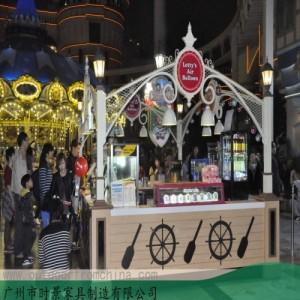 惠州果汁饮料咖啡奶茶售卖亭 饰品移动售卖车