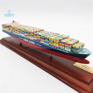 从集装箱船模型制作了解制作模型所需材料