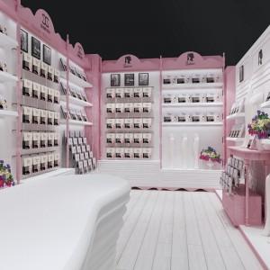 上海围巾丝巾展示柜货架来图询价 鞋靴登山鞋展示柜厂家订制