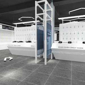 浙江中式实木茶叶展示柜厂家订制 精思-电脑耗材展示柜工厂报价